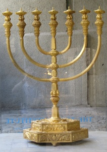 The menorah for the coming Temple