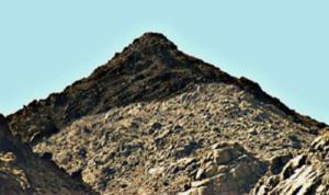 Jabal al Lawz, aka Mt. Sinai
