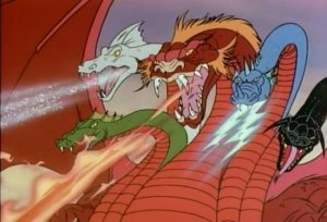 No, not this Tiamat. (And if you recognize this picture, you watched the same Saturday morning cartoons as I did.)